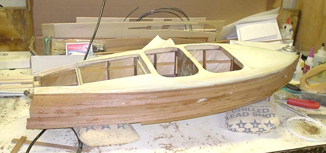 Chris Craft Barrel Back Boat Project