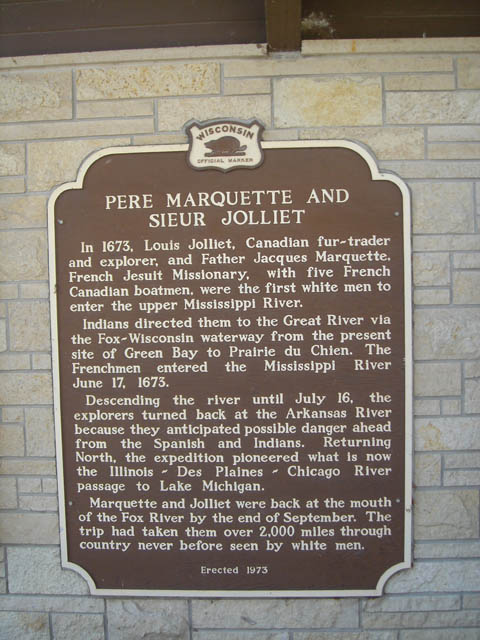 jacques marquette and joliet expedition Pere marquette cross on june 10, 1673, french explorer louis joliet and jesuit priest father jacques marquette led the first french expedition down the mississippi river in search of the pacific ocean.
