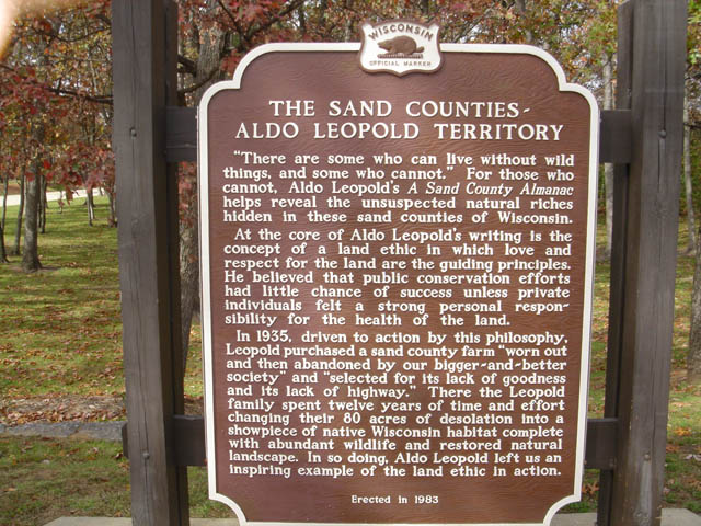 sand county wisconsin map The Sand Counties